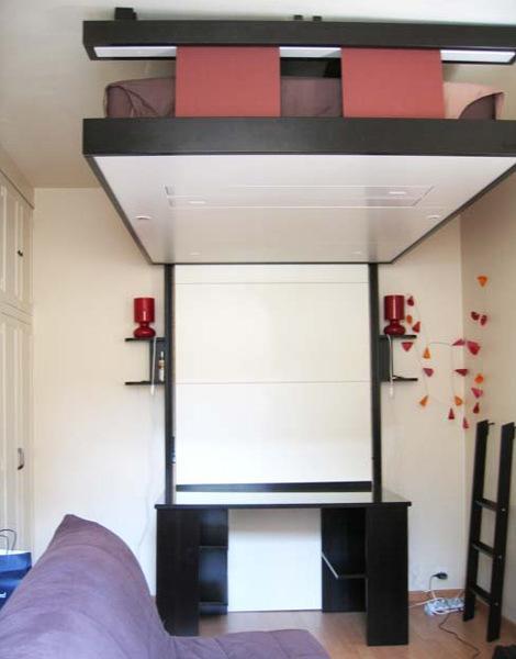 Кровать поднимающаяся к стене своими руками